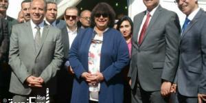 بالصور - وزيرة الثقافة تفتتح معرض الإسكندرية الدولي للكتاب في دورته ال14