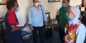 رئيس الهيئة العامه لقصور الثقافة يتفقد قصر ثقافة الانفوشى والشاطبي بالإسكندرية