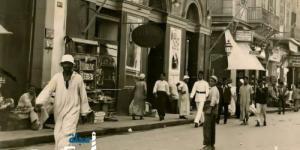 شارع السبع بنات * عام 1932