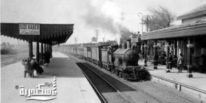 محطة سيدى جابر عام ١٩٣٤