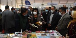 وزيرة الثقافة.... معرض الإسكندرية للكتاب يساهم في استكمال رسالة التنوير ودعم صناعة الكتاب والنشر