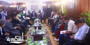 محافظ الإسكندرية يستقبل لجنة الثقافة و الإعلام بمجلس النواب
