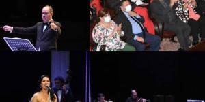 وزيرة الثقافة تشهد احتفالية كوكب الشرق بأوبرا الاسكندرية