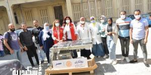 روتاري الإسكندرية تسلم مستشفى دار اسماعيل أجهزة طبية