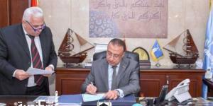 محافظ الإسكندرية يعتمد تنسيق المرحلة الثالثة للثانوي وخدمات التعليم الفني