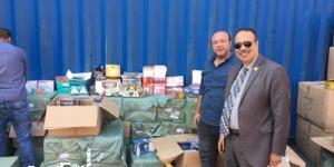 جمارك الإسكندرية تضبط محاولة تهريب كمية كبيرة من المنشطات وأدوية التخسيس ومستحضرات التجميل