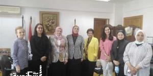 وفد من السفارة الفرنسية يزور «تمريض الإسكندرية» لتفعيل اتفاقية «أيكس مارسيل»