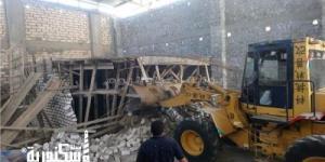 حملات مكبرة لإيقاف أعمال البناء المخالف في الإسكندرية