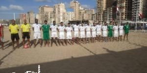 """«محافظة  الإسكندرية» تستضيف مباريات كرة القدم الشاطئية على شاطئ"""" اسحاق حلمي"""""""