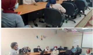 وكيل تضامن الاسكندرية يعقد اجتماعا لبحث أهم معوقات العمل