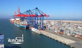 """""""شركة الإسكندرية لتداول الحاويات"""" تتوقع تداول 850 ألف حاوية خلال العام المالى 2022-2021"""
