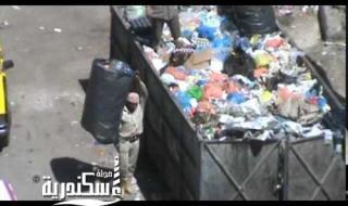نباش قمامة يعتدي على سائق نهضة مصر ويتسبب في جرح قطعي في اليد