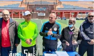 منطقة الإسكندرية لكرة القدم تكرم أبنائها المدربين