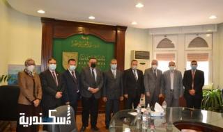 """زياره """"ضمان جودة التعليم"""" لجامعة الإسكندرية"""