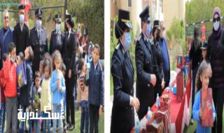 الداخلية تحتفل بيوم اليتيم بدور رعاية بالاسكندرية