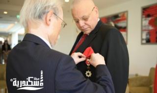 السفير الياباني يُكرم القنصل الفخري في محافظة الإسكندرية