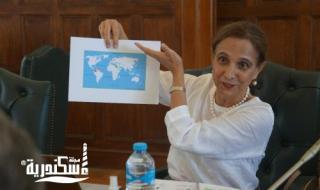 """""""غرفة الإسكندرية"""" تستقبل سفيرة كولومبيا لبحث سبل التعاون"""