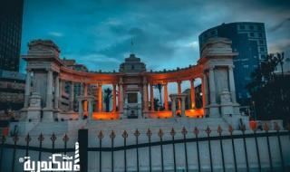 النصب التذكاري للجندي المجهول بالمنشية اسكندرية