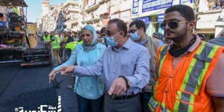 محافظ الإسكندرية.... انتهاء تطوير 95% من مشروع الحضرة الجديدة بـقيمة 148 مليون جنيه