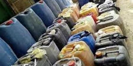 تموين الإسكندرية....ضبط 4 آلاف لتر سولار مدعم مهربة بمصنع في برج العرب