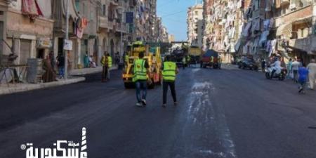 """حي وسط """"الحضرة الجديدة"""" ترتدي ثوب التطوير بالإسكندرية"""