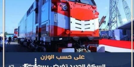 السكة الحديد تفرض رسوم على «كراتين البضائع » الرُكاب ...على حسب الوزن والحمولة