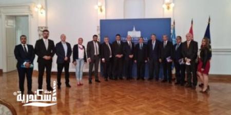 سفارة مصر بصربيا تنظم زيارة لوفد من محافظة الإسكندرية