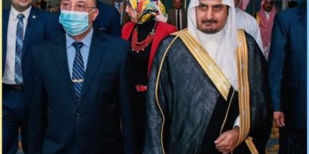 محافظ الاسكندرية يشارك في اليوم الوطني ال٩١ للمملكة العربية السعودية بالقنصلية