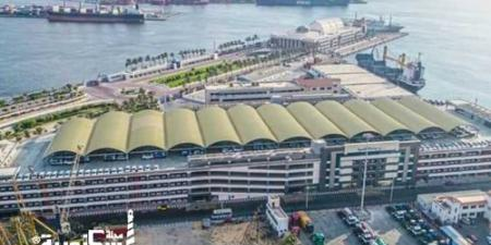 بدء تشغيل الجراج متعدد الطوابق في ميناء الإسكندرية....يتسع لـ4 آلاف سيارة