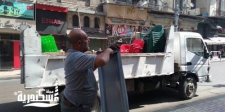 محافظ الإسكندرية.... ضبط 953 حالة إشغال وتحرير 732 محضرا متنوعا