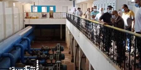 """""""مياه الإسكندرية"""" جولة تفقدية لمتابعة أعمال الشركة ضمن مبادرة «حياة كريمة»"""
