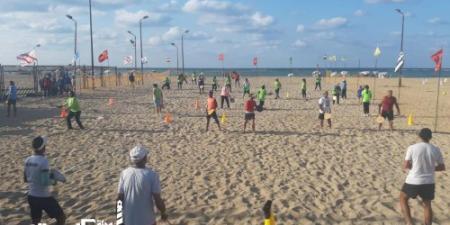 انطلاق المهرجان الرياضي الأول للراكيت علي شواطئ الإسكندرية
