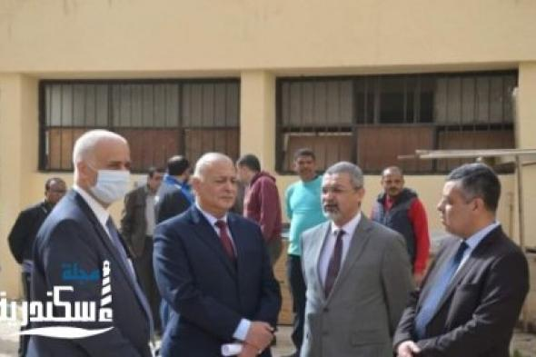 العزل الجامعي بسموحة يستقبل 10 حالات مصابة بكورونا
