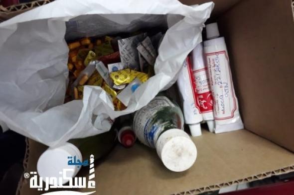 الرقابة الإدارية تشن حملات على قطاع المستلزمات الطبية بالإسكندرية