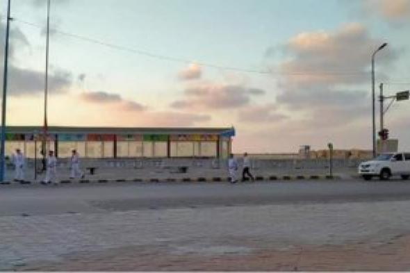 مديرية أمن الإسكندرية تمشط طريق الكرونيش لمنع  تناول الافطار الجماعي