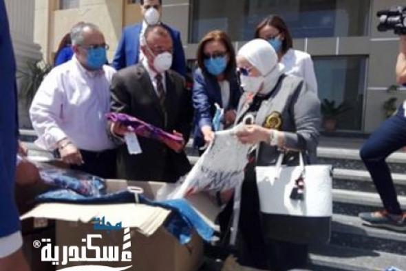 روتارى مصر يهدى 6000  طفل ملابس العيد