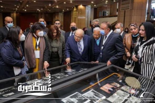 وزيرة الثقافة ... تفتتح الاحتفال بمئوية ثروت عكاشة بمكتبة الإسكندرية