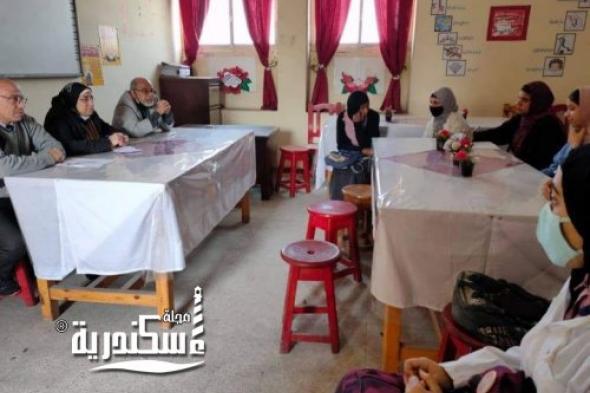 """ندوة  لمركز غرب الاسكندرية حول """" التغذية السليمة للمراهقين """""""