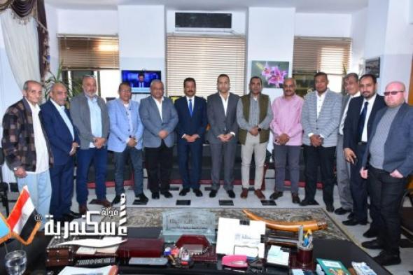 مدير عام الهيئة الإقليمية لتنشيط السياحة يعقد الإجتماع الدوري الثالث مع مسئولي قطاع السياحة الحكومي بالإسكندرية