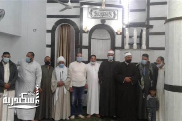 افتتاح 3 مساجد في العامرية