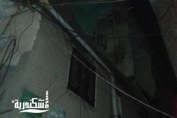 إصابة طفل بكدمات بسيطة في انهيار أجزاء من عقار بأبو سليمان