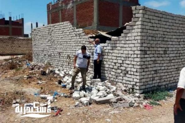 المحافظة.....تزيل ٤٢٤ حالة بناء مخالف في 6 أشهر