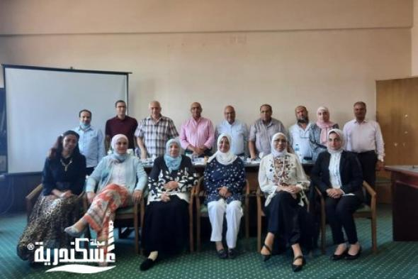 """""""زراعة الإسكندرية"""" تجري تقييم أبحاث مسابقة جائزة الابتكار لتقديم أغذية صحية مناسبة لذوق المستهلك المصري"""