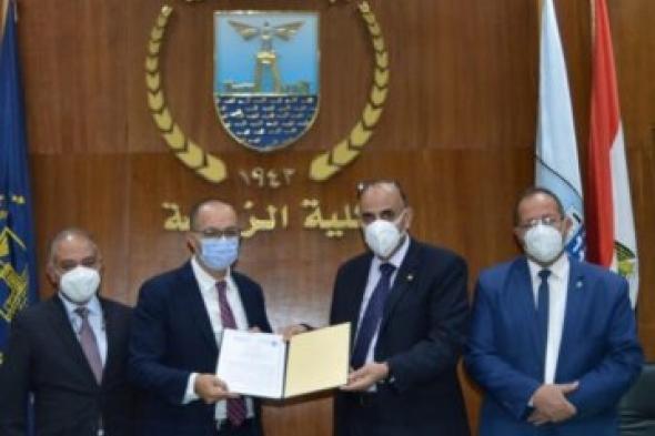 بروتوكول تعاون بين كلية الزراعة - جامعة الاسكندرية وشركة إنروت للاستشارات والتنمية المستدامة