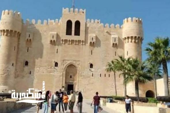 """اقبال كبير على """"قلعة قايتباي"""" خلال عيد الأضحى المبارك"""