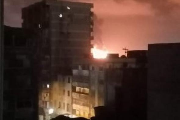 نيابة الإسكندرية تحقق فى حريق وقع بخط تفريغ الاسفلت ميناء الإسكندرية وتنتدب الأدلة الجنائية