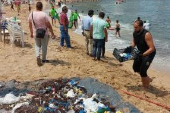 السياحة والمصايف تتابع مبادرة نظافة الشواطئ والبيئة البحرية