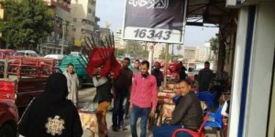 حى العجمى : حملة إشغالات موسعة بـ البيطاش و الهانوفيل
