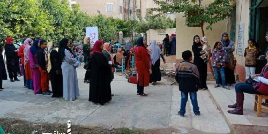 """مؤسسة """"صندوق الخير"""" تنظم قافلة طبية فى الإسكندرية"""