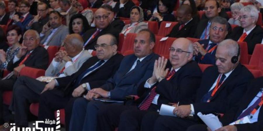 """نائبا عن رئيس مجلس الوزراء : محافظ الإسكندرية يفتتح المؤتمر الدولي """" بيوفيجن الإسكندرية ٢٠١٨ """""""